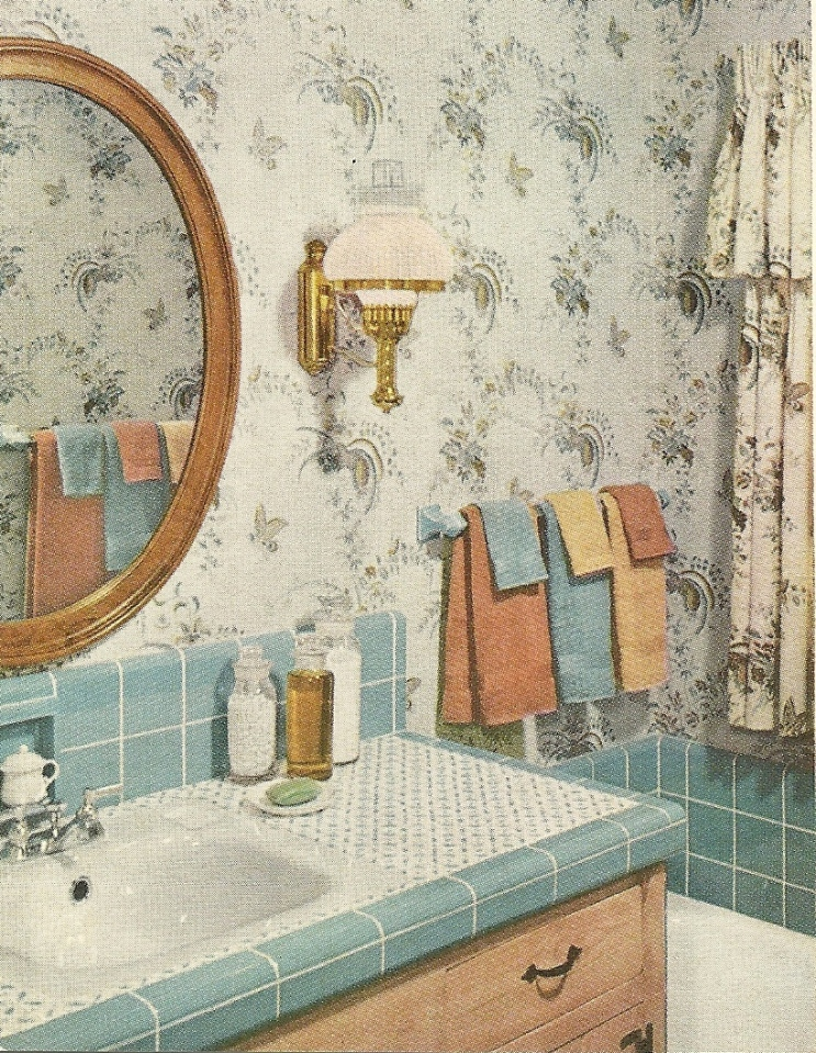 1960s Bathroom Design Ideas ~ Vintage decorating bathrooms antique alter ego