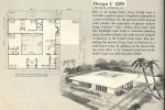 Vintage house plans, 1960s house plans, mid century house plans