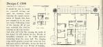 Vintage house plans, 1960s house plans,