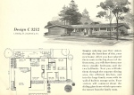 Vintage House Plans, Mid Century Modern House Plans, 1960s House Plans