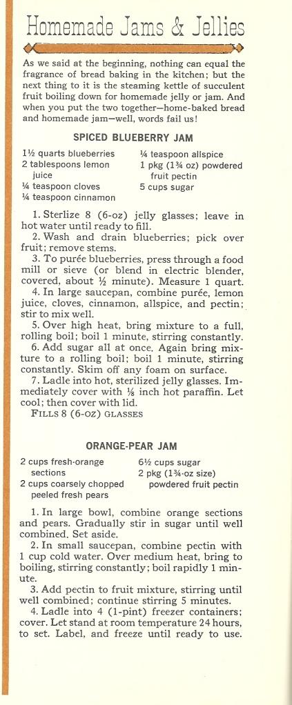 Vintage recipes, Jams, Jellies, Homemade