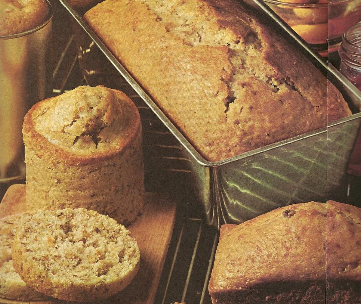Vintage recipes, quick breads, tea breads