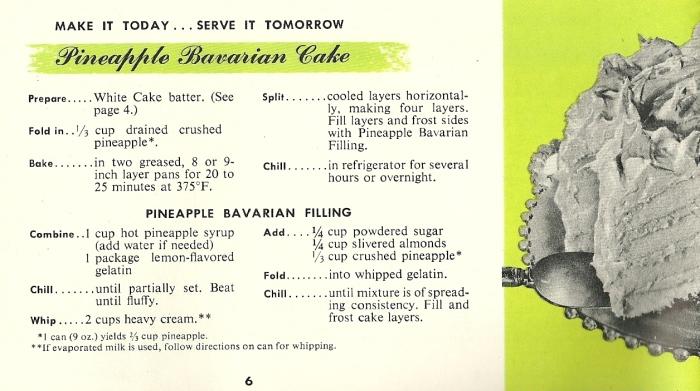 1940s cake recipes, vintage cake recipes