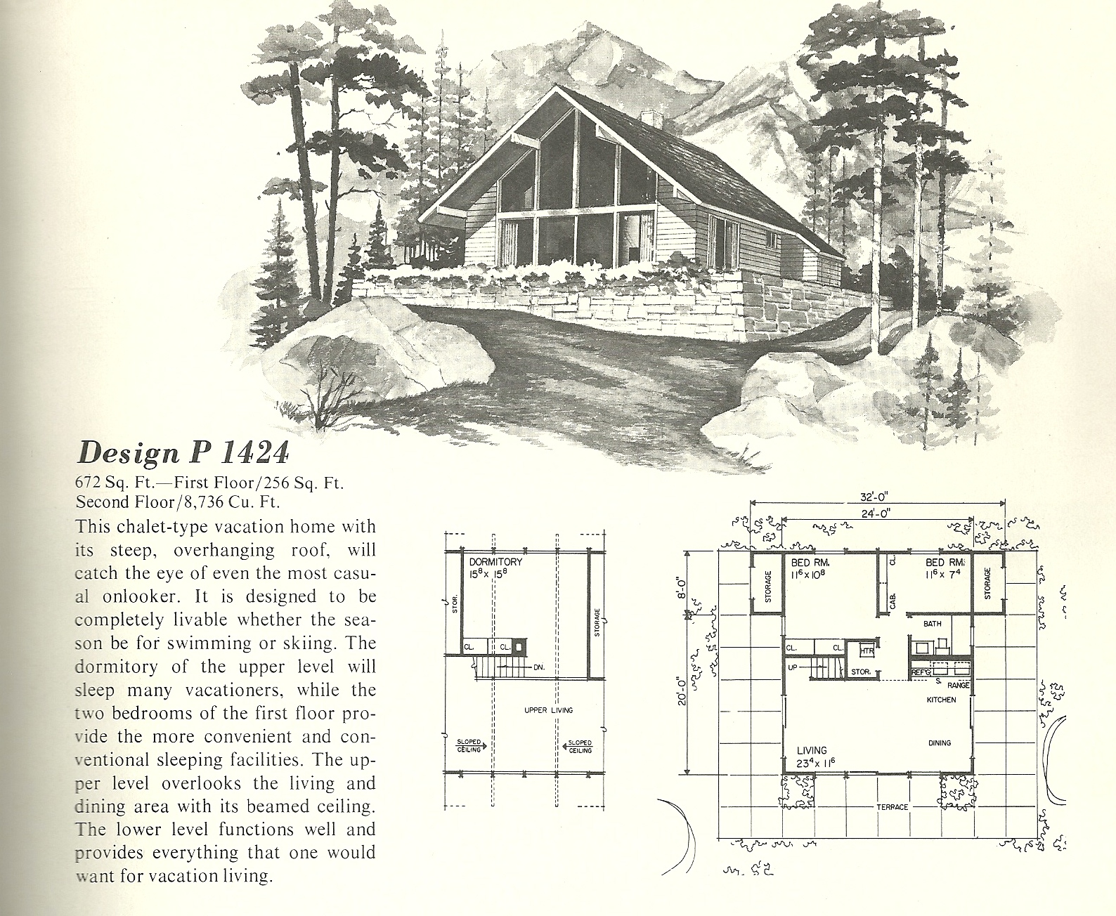 vintage house plans 1424 antique alter ego