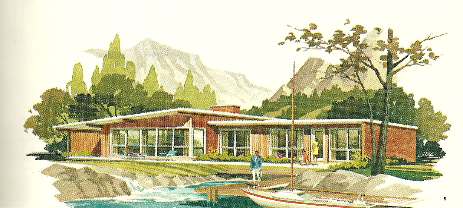 Vintage house plans vacation homes 2400 antique alter ego for Free vacation home plans