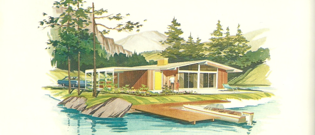 Vintage House Plans Vacation Homes 2460 Antique Alter Ego