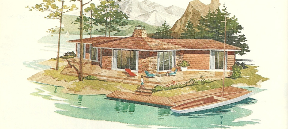 Vintage House Plans Vacation Homes 2461 Antique Alter Ego