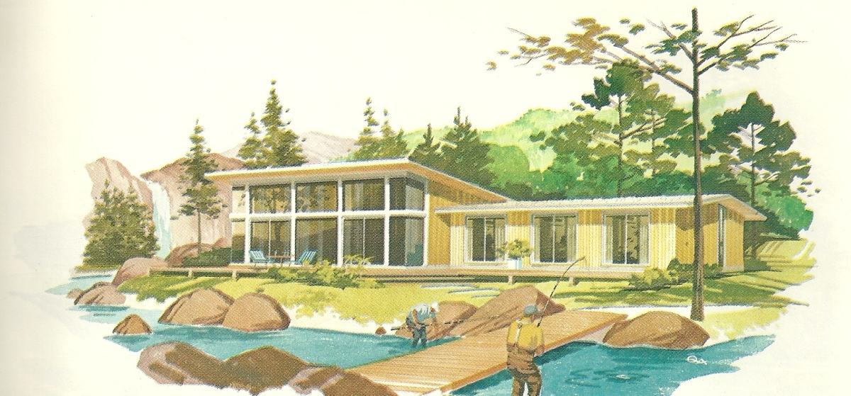 Vintage House Plans Vacation Homes 2462 Antique Alter Ego