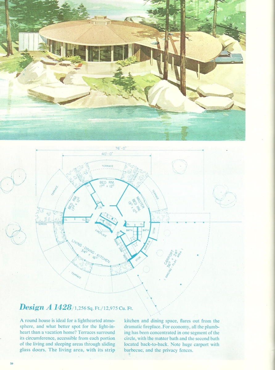 Vintage vacation home plans 2 antique alter ego for Free vacation home plans