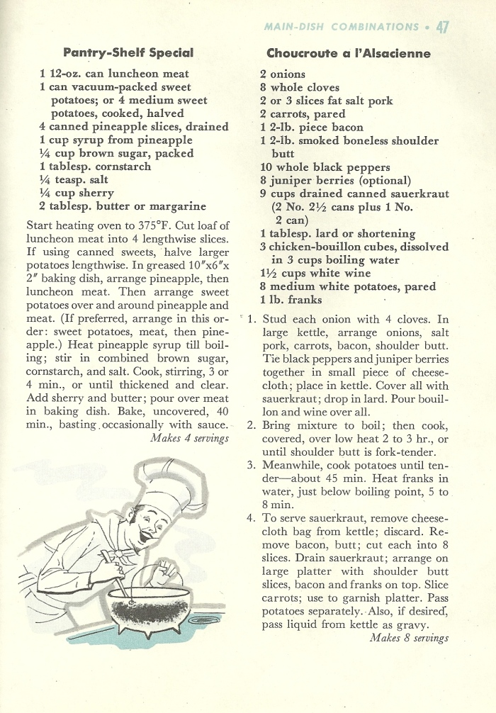 Vintage veggie recipes, vegetable recipes