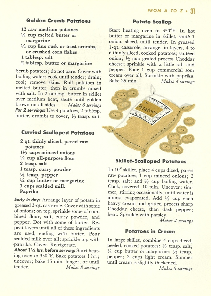 veggie recipes, vintage veggie recipes, vegetable recipes