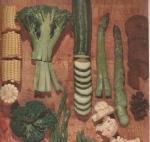 veggie recipes, vintage veggie recipes, vegetable recipes