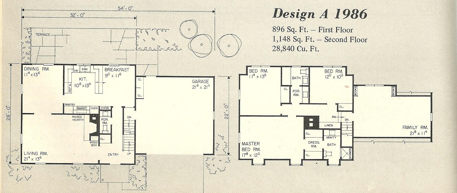 gambrel house plans - house plans