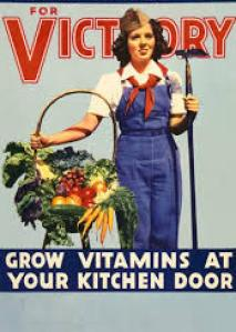 vintage salad recipes, 1940s salad recipes, victory gardens