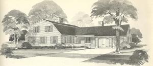 Vintage House Plans, vintage homes, floor plans, 1970s