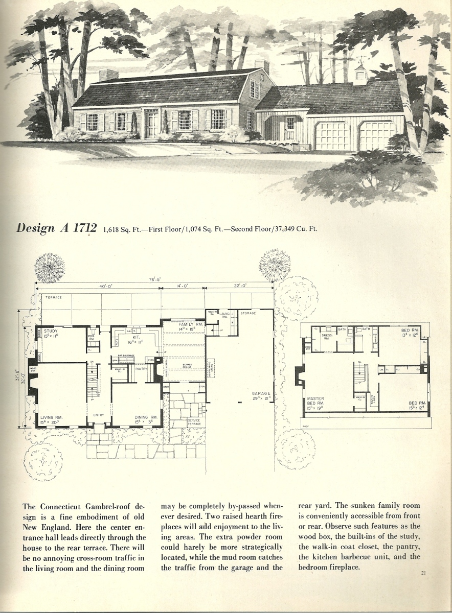 Vintage house plans 1712 antique alter ego for New house plans 2013