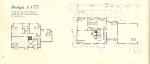 Vintage House Plans, vintage homes, floor plans, 1970s