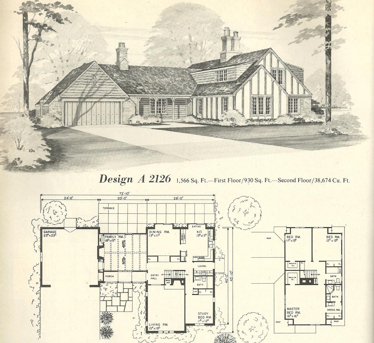 Vintage House Plans 2126