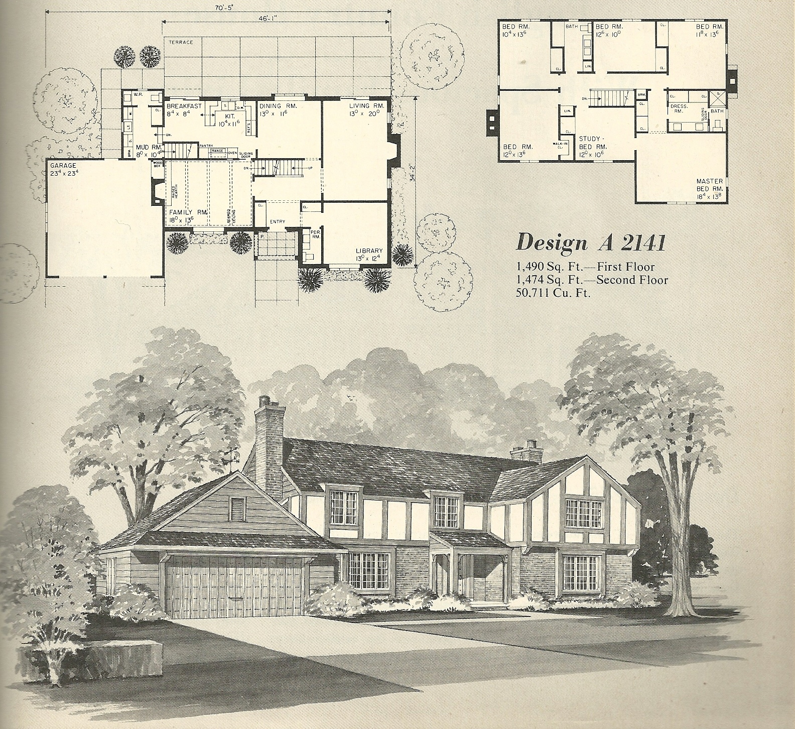 vintage house plans 2141 antique alter ego