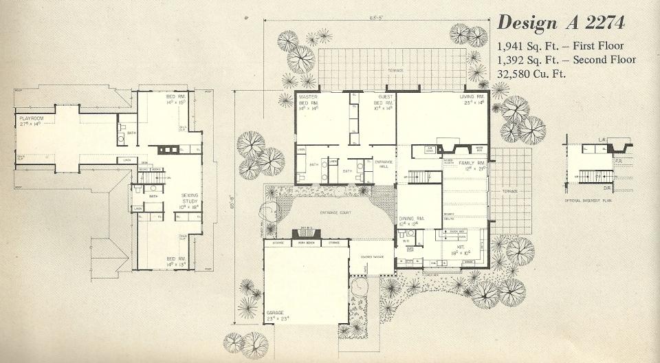 Vintage House Plans 2274a Antique Alter Ego
