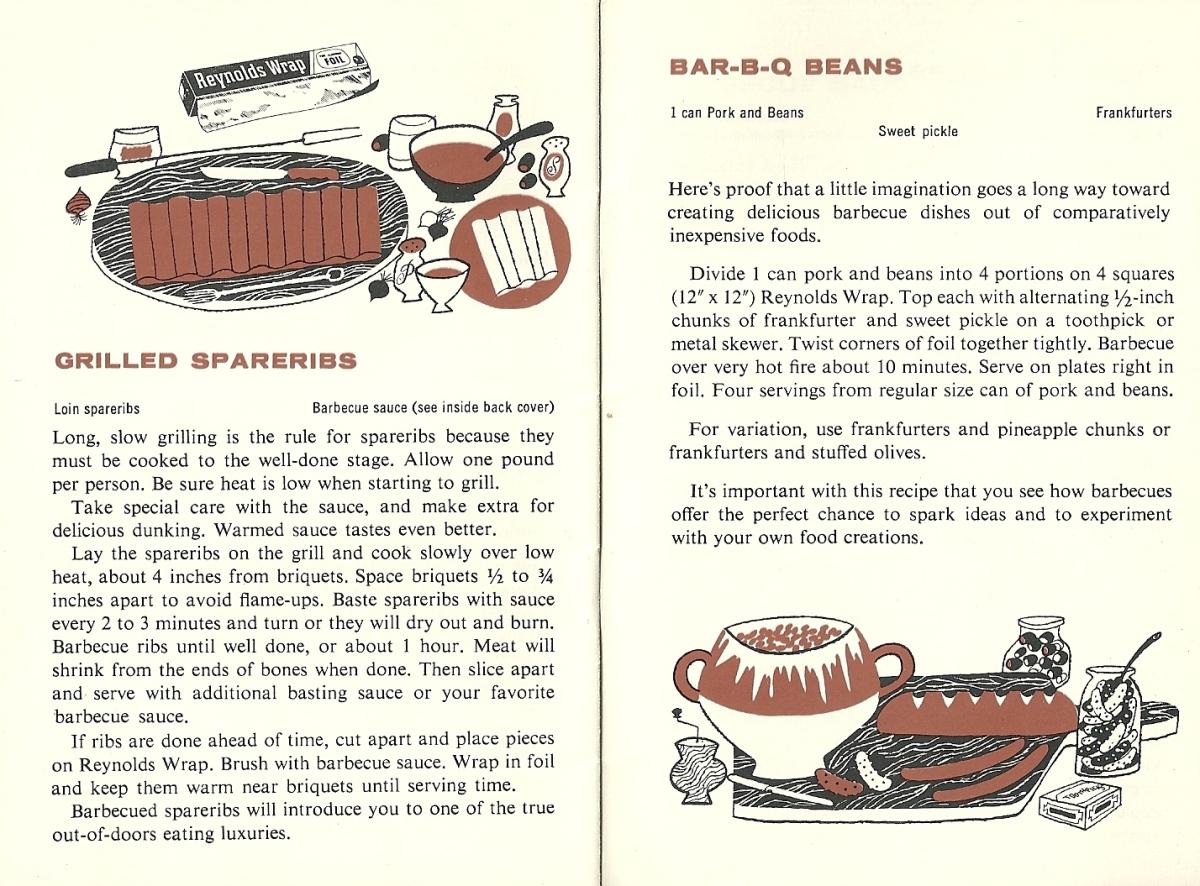 Vintage recipes, chicken BBQ
