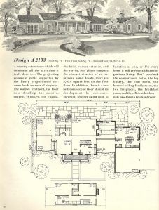 Vintage House Plans 1970s: Early American Southern Heritage |