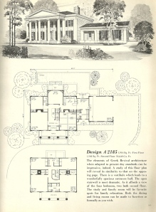 Vintage House Plans 1970s Early American Southern Heritage