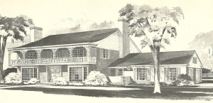 Vintage House Plans, Southern