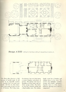 Vintage House Plans, Georgian
