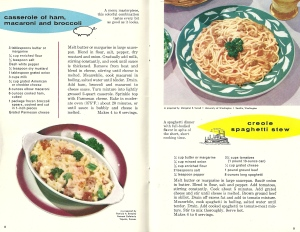 Vintage Recipes, 1960s Pasta Recipes