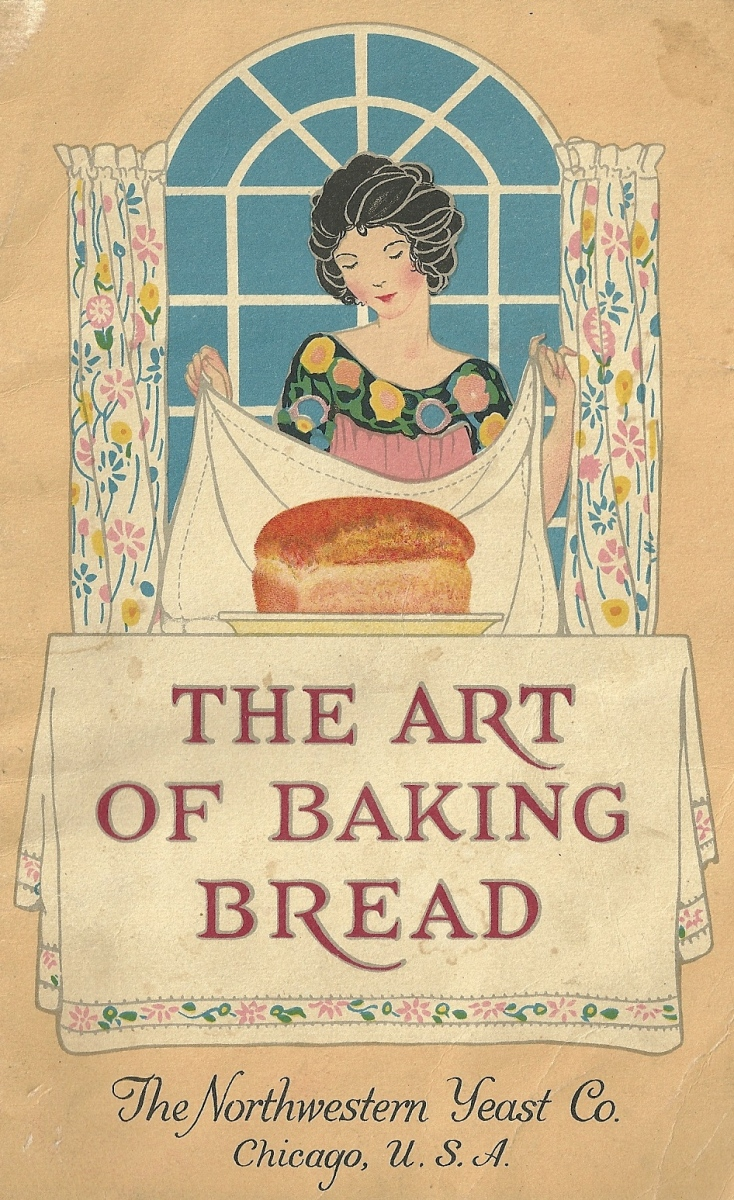 Vintage Recipes: 1920s Booklet The Art of Baking Bread ...