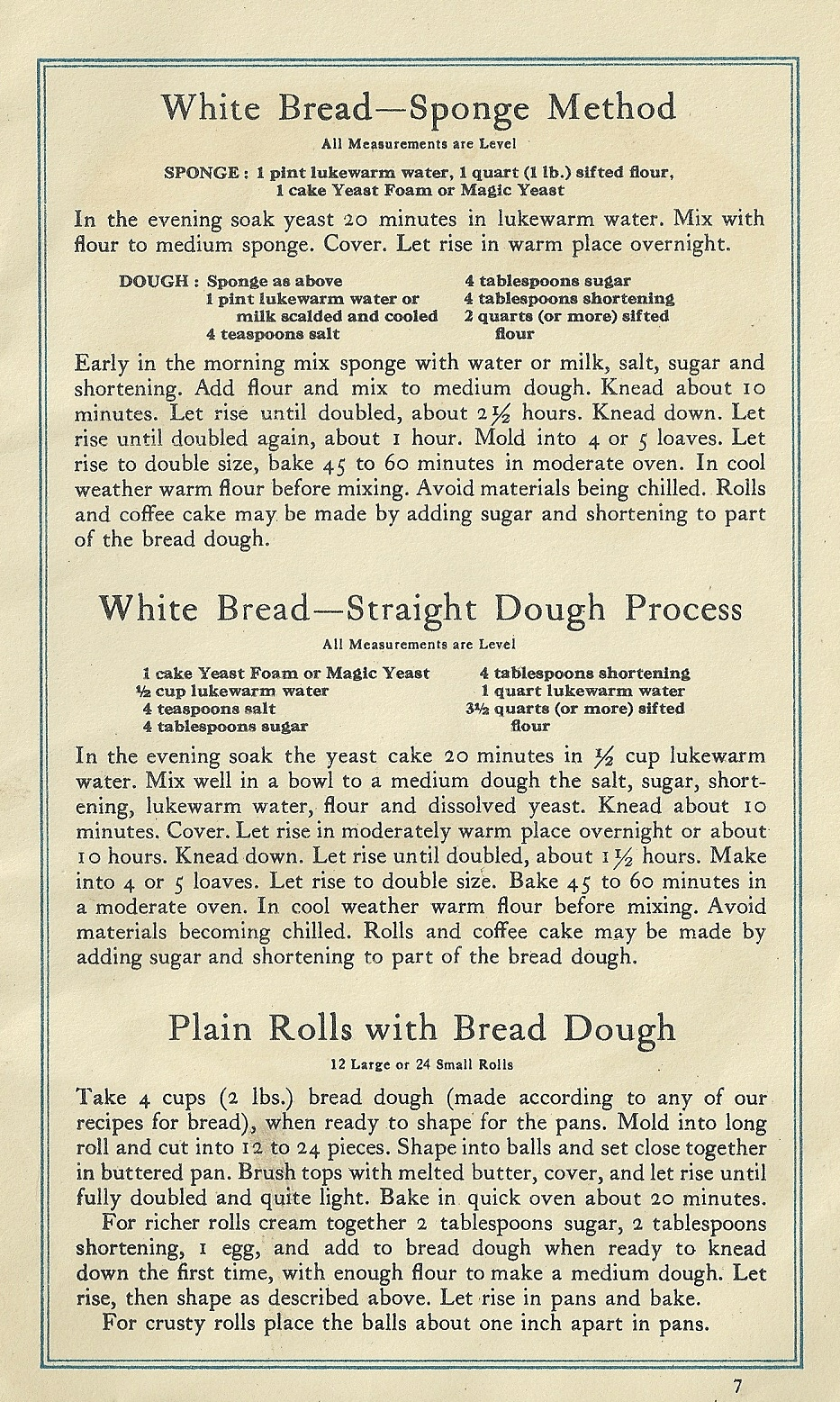 1920s pasta recipes