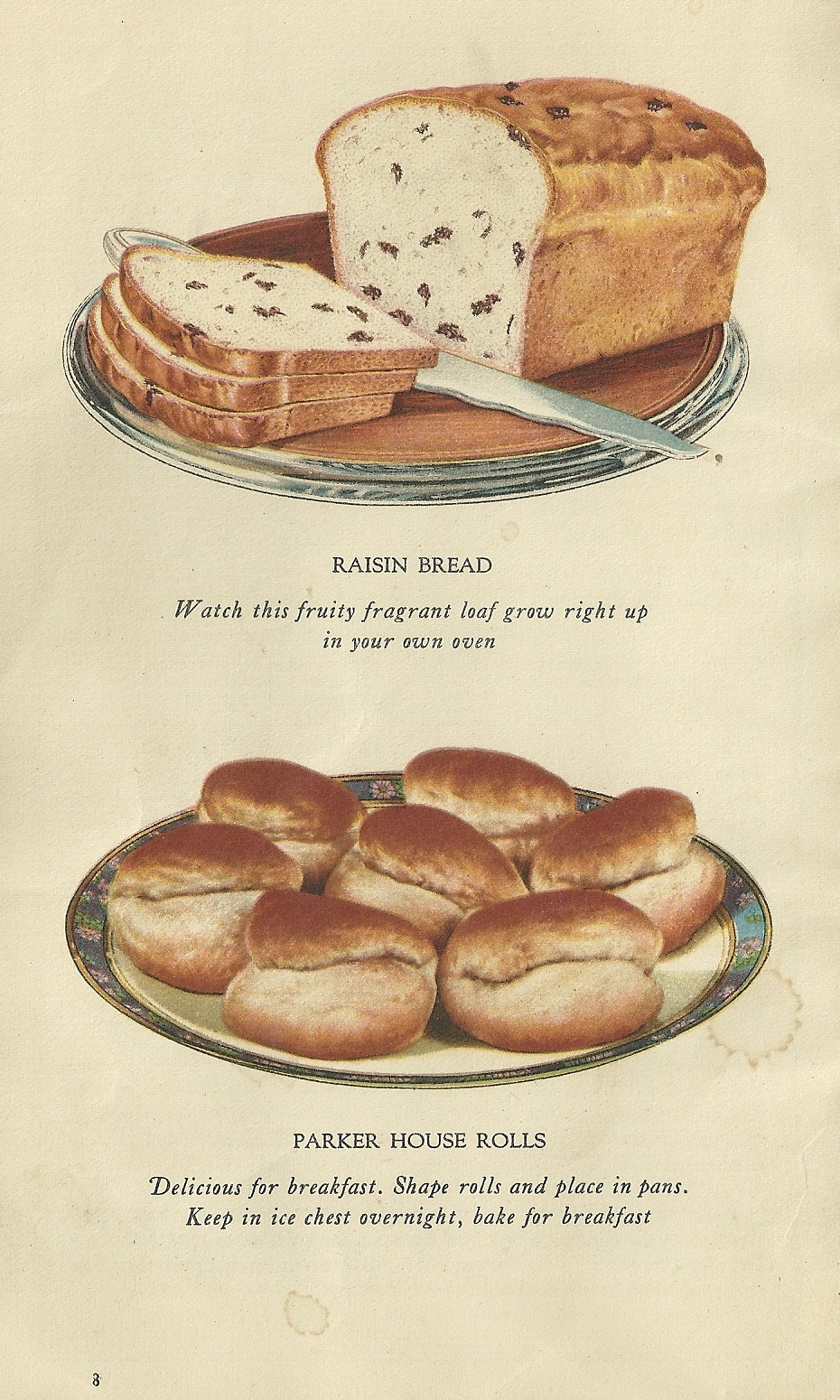 Vintage Recipes Art of Baking Bread 8 | Antique Alter Ego