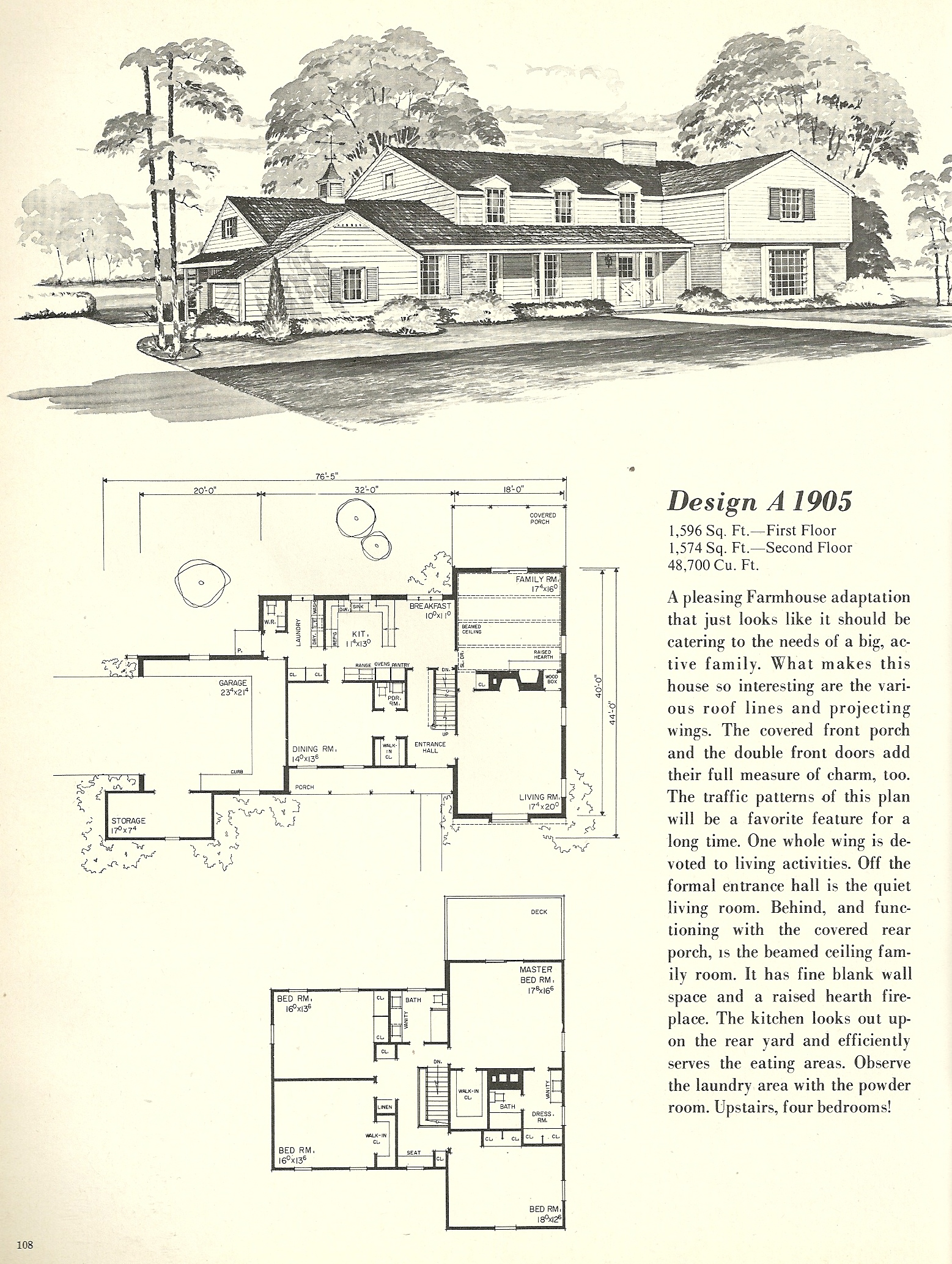 Vintage house plans farmhouse 2 antique alter ego for Farmhouse plans