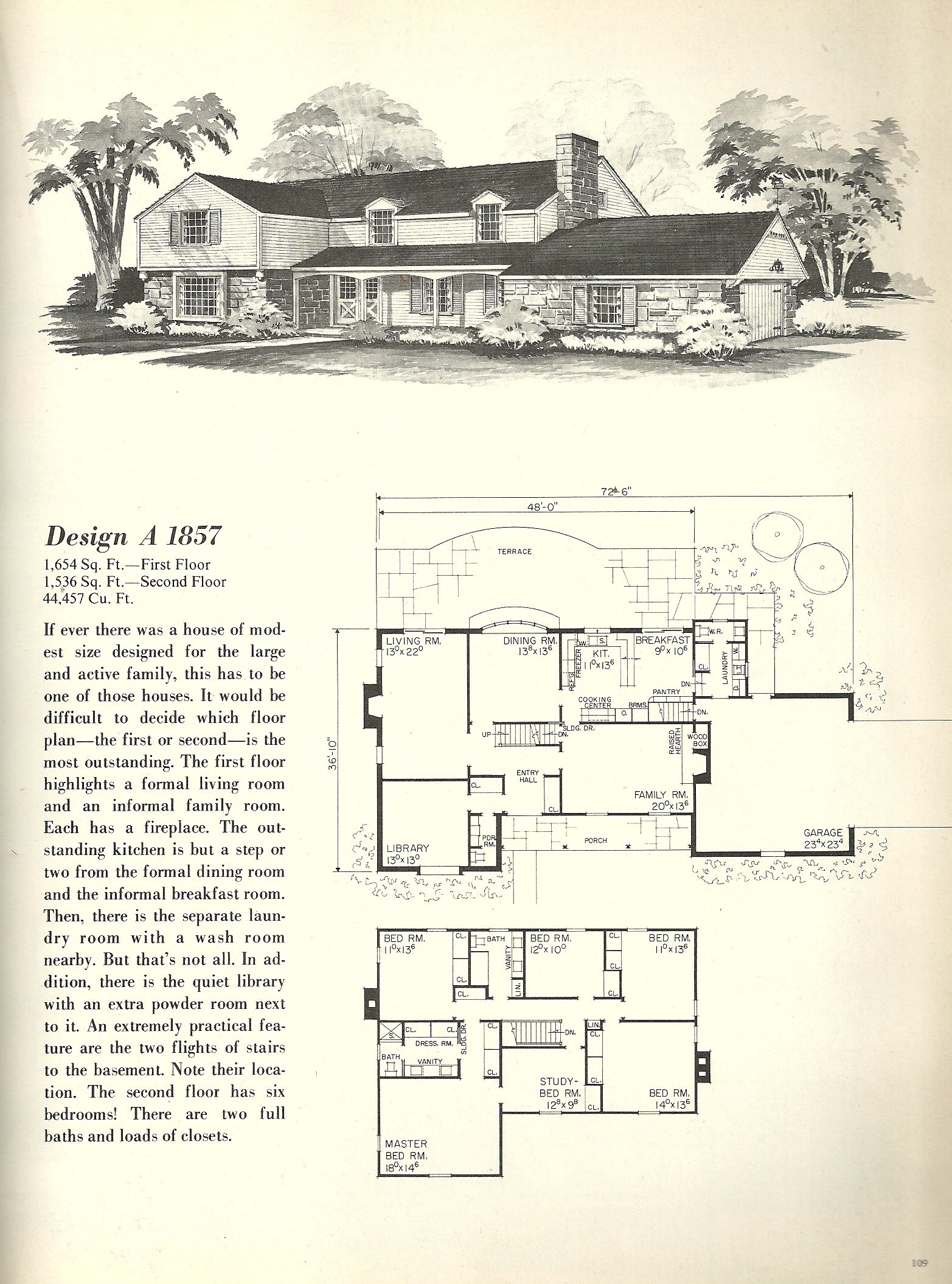 Vintage house plans farmhouse 3 antique alter ego for Vintage floor plans