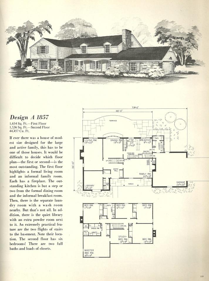 Vintage House Plans Farmhouse 3 Antique Alter Ego