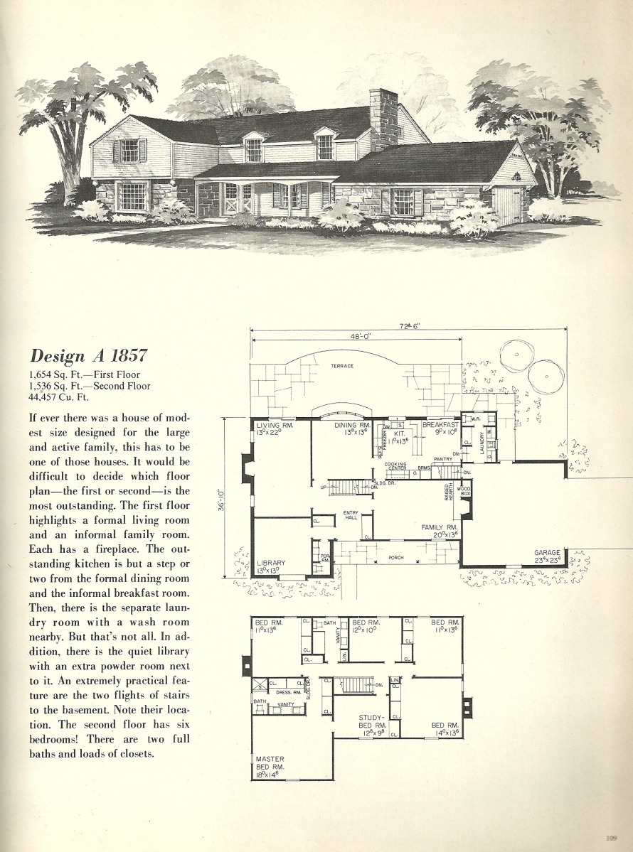 Vintage House Plans, Farmhouses