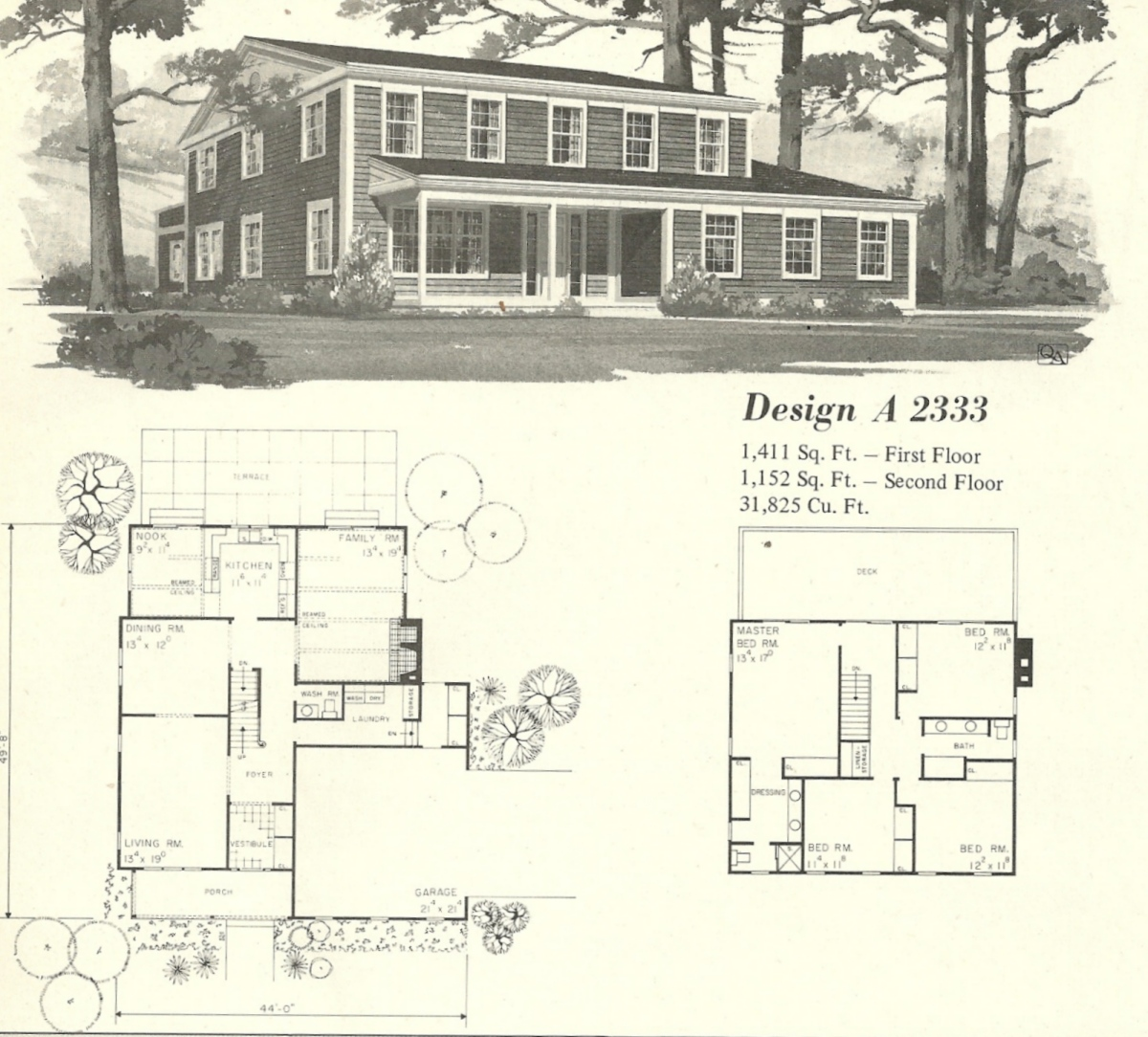 Vintage house plans farmhouse 4 antique alter ego for Vintage home plans
