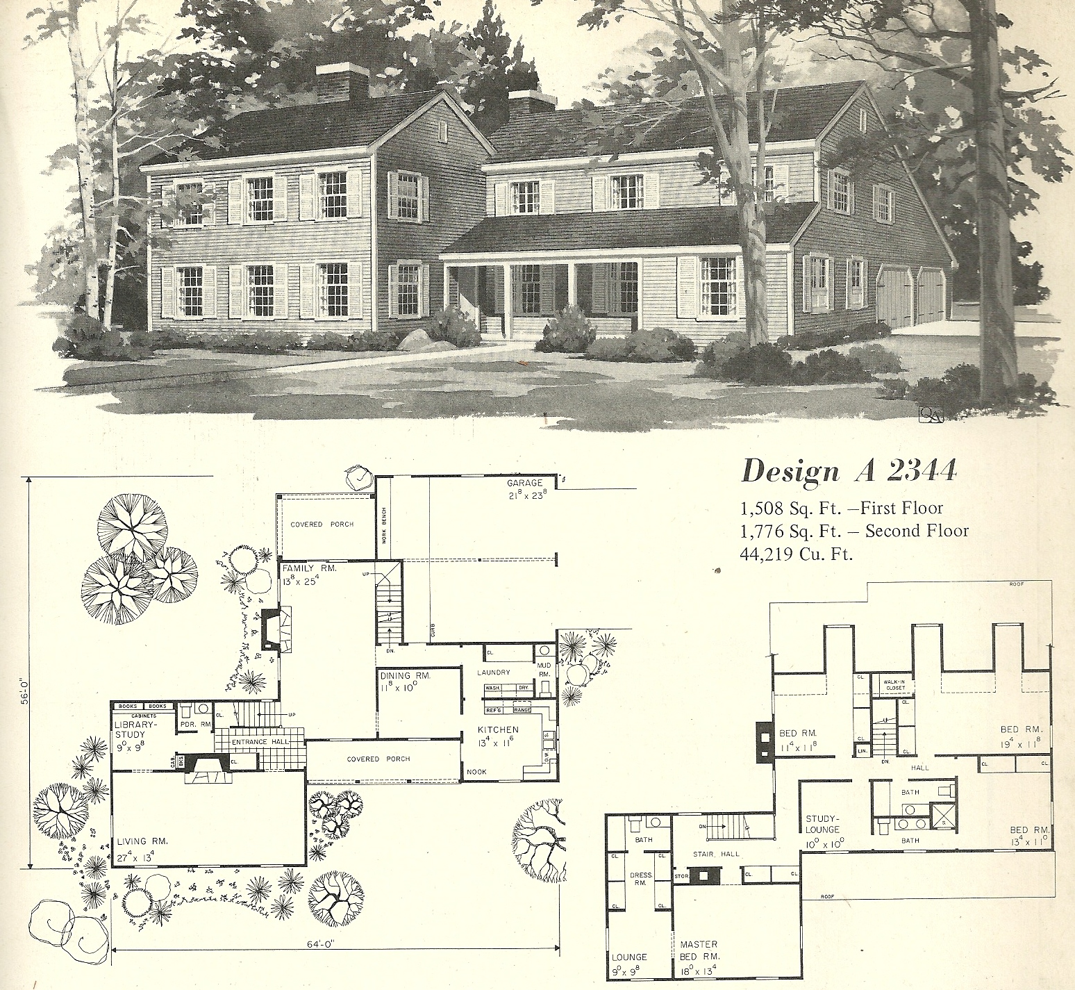 Vintage House Plans Farmhouse 5