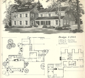Vintage House Plans, Farmhouses