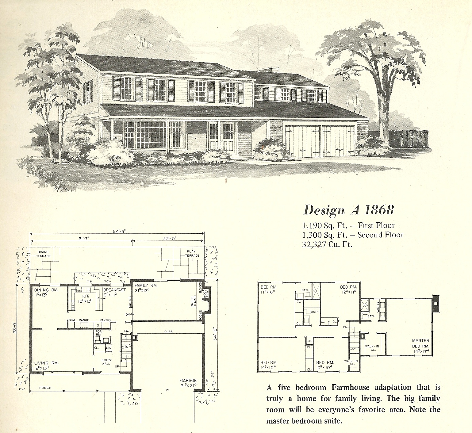 Vintage house plans farmhouse 6 antique alter ego for Vintage floor plans