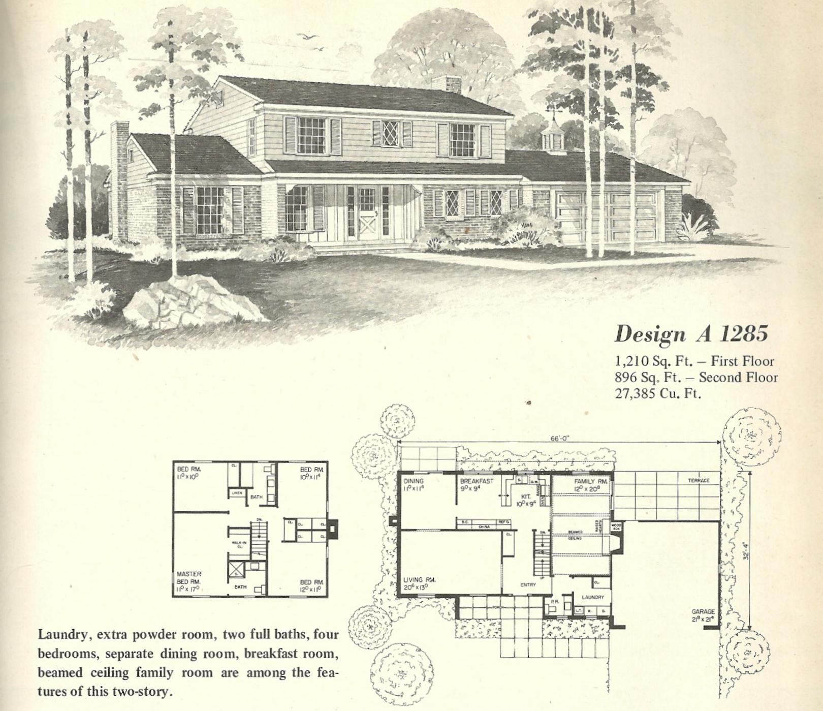 Vintage House Plans Farmhouse 7 Antique Alter Ego