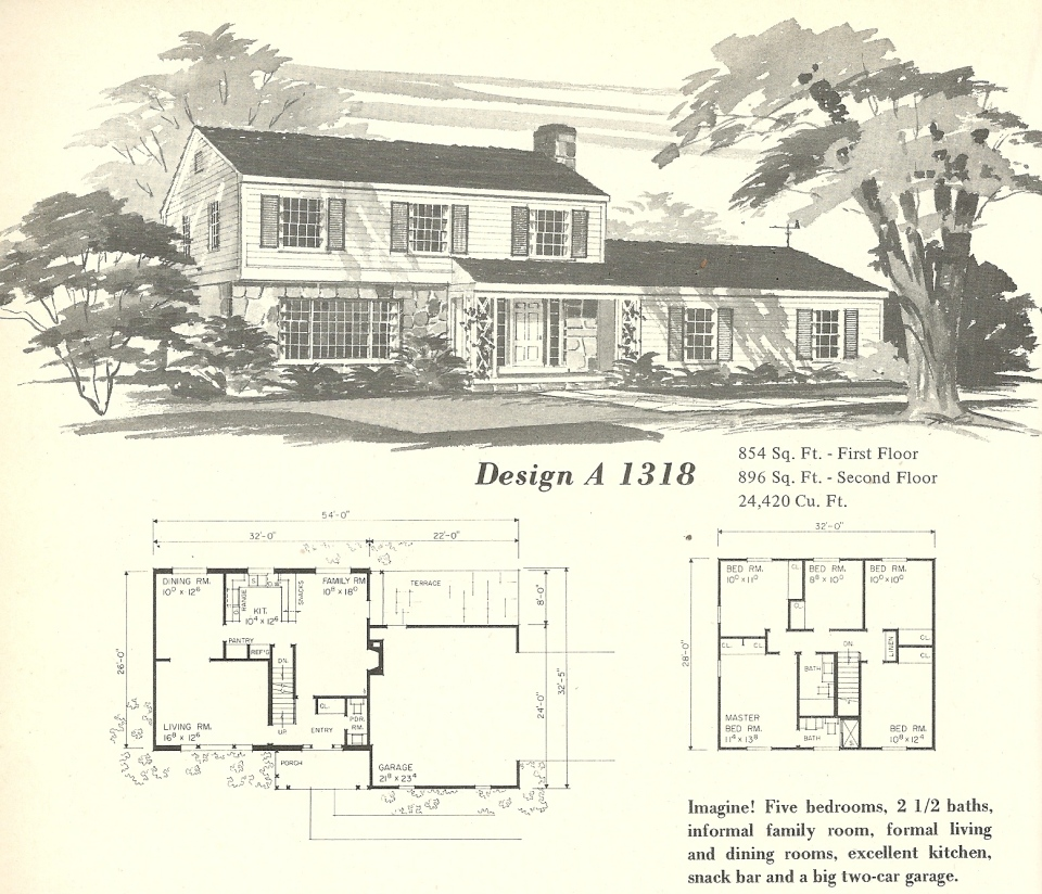 Vintage House Plans Farmhouse 8 Antique Alter Ego