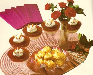 vintage recipes, 1960s desserts
