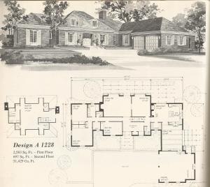 Vintage Home Plans, country estates