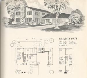 Vintage Home Plans Old West