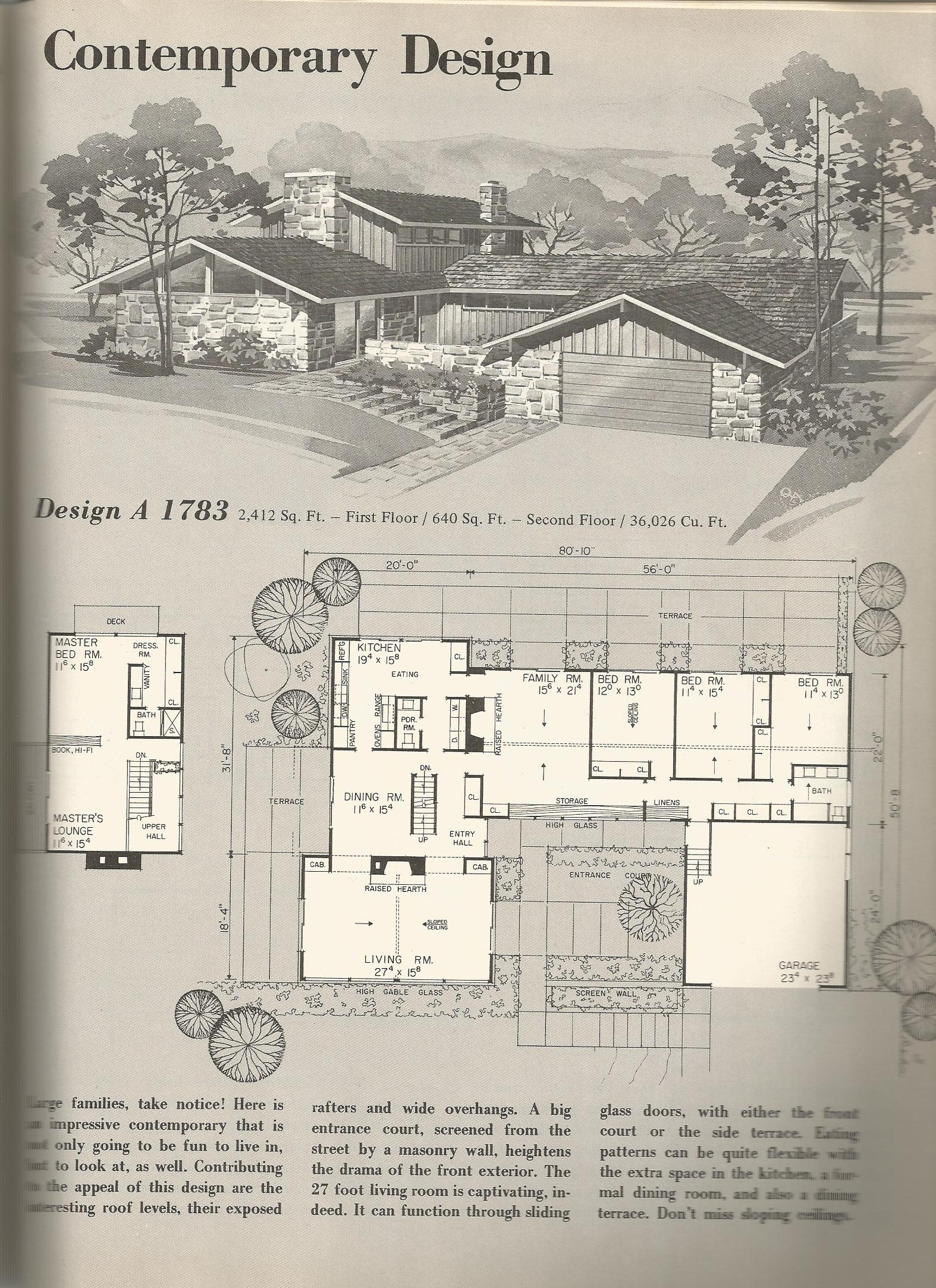 80S House Plan