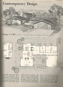 Vintage House Plans 1970s Contemporary Designs Antique Alter Ego