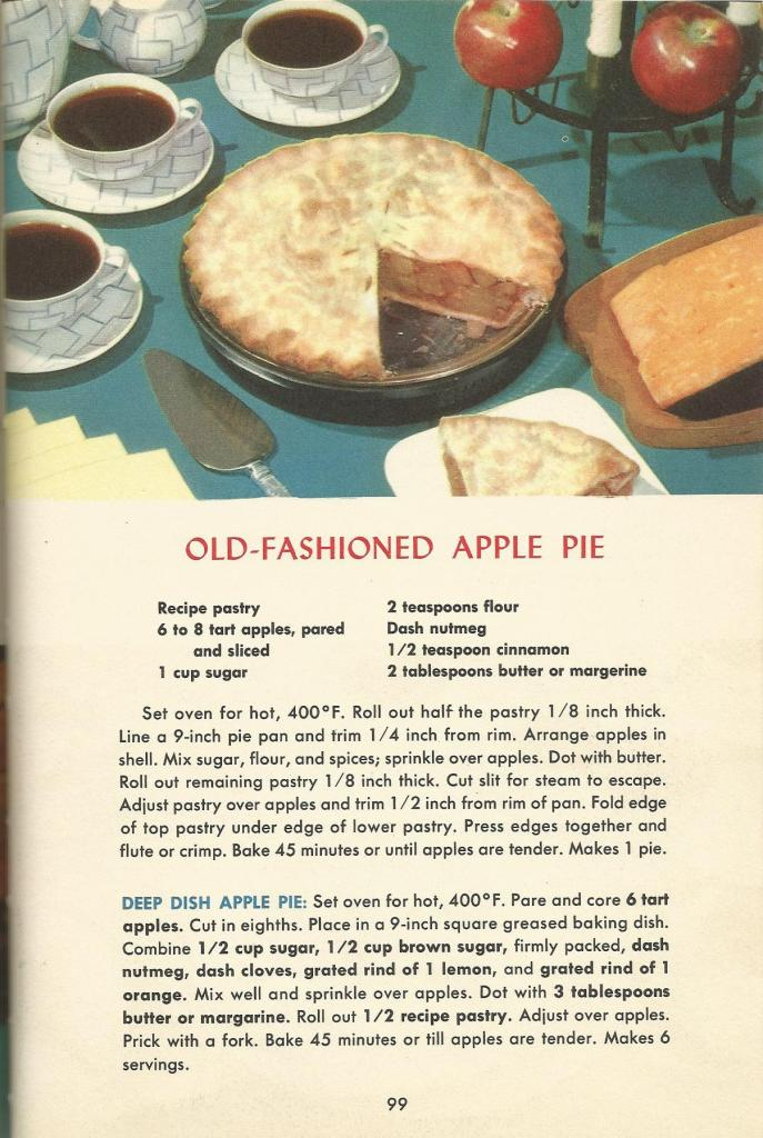 Pies from the 1950s