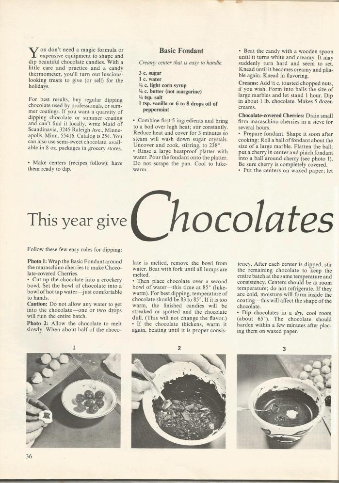 1960s Food Gift Ideas